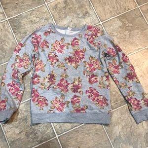 Old Navy floral sweatshirt size XL